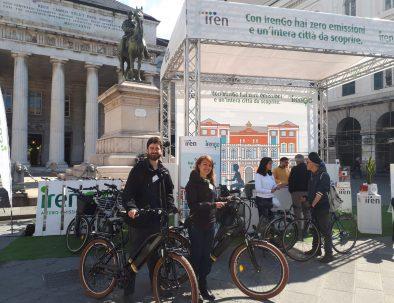 tour bicicletta elettrica con iren per i rolli days